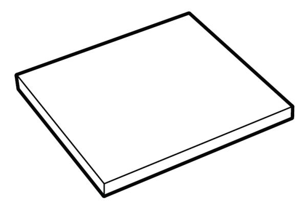 Extra legbord Dera 1100-1200