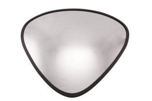 Convex binnenspiegel driehoek 330x330x380 mm