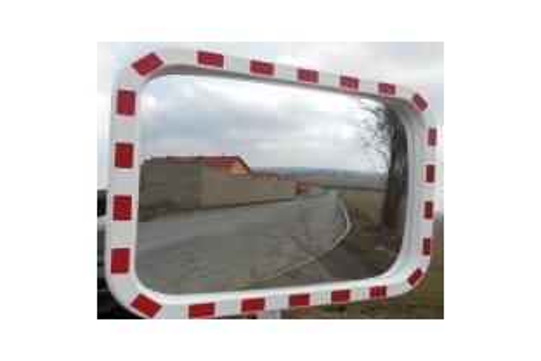 Verkeersspiegel Acryl rechthoekig 600 x 800 mm