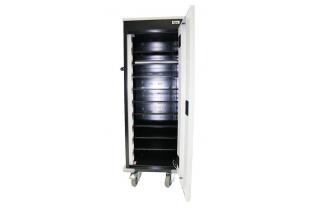 Orgami Laptoptrolley 10-vaks met  stroomvoorziening | KluisShop.be