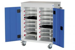 Orgami Laptoptrolley 30-vaks met  stroomvoorziening | KluisShop.be