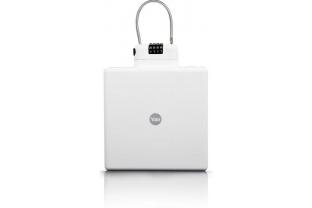 Yale Draagbare reiskluis (wit) Mobiele kofferkluis | KluisShop.be