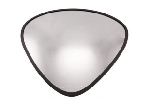 Convex binnenspiegel driehoek 330x330x380 mm | KluisShop.be