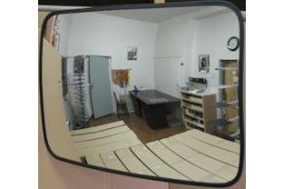 Convex Binnenspiegel rechthoekig 400x 600 mm | KluisShop.be