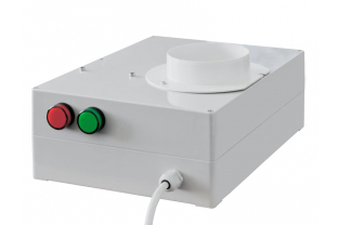 Afblaas ventilator