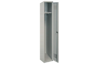 Garderobekast Sum 410 W- 1 kolom, 1 hoge locker, extra breed | KluisStore.nl