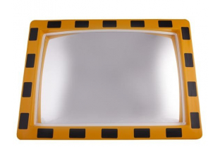 Industriële spiegel rechthoekig 400 x 600 mm | KluisShop.be