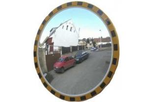Industriële spiegel rond 600 mm | KluisShop.be