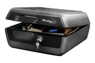 Masterlock LCFW30100 brand- en waterwerende box (1 uur) | KluisShop.be