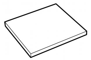 Extra legbord De Raat DRS-Pro model 62-120 Interieur | KluisShop.be