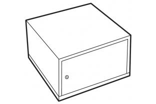 Lips Brandkasten afsluitbare binnenkast size 110-300 | KluisShop