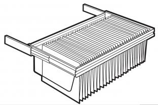 Lips Brandkasten uittrekbaar hangmappenframe size 450  | KluisShop