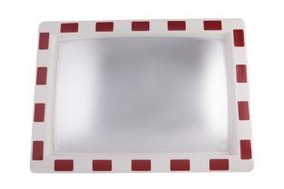 Verkeersspiegel Acryl rechthoekig 400 x 600 mm | KluisShop.be