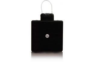 Yale Draagbare reiskluis (zwart) Mobiele kofferkluis | KluisShop.be